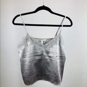 Forever 21 Silver Camisole.